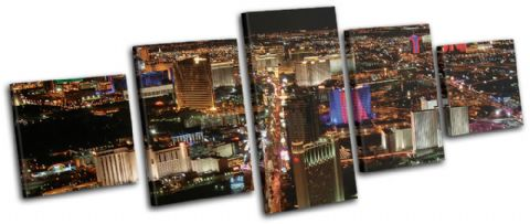 Las Vegas Strip Landmarks - 13-0741(00B)-MP07-LO